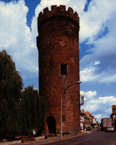 Tower in Beeskow photo