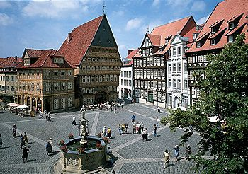 Market Square in Hildesheim