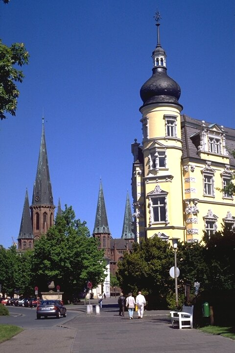 Castle and Church in Oldenburg